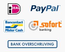 Hollandlures veilig betalen met ideal of paypal
